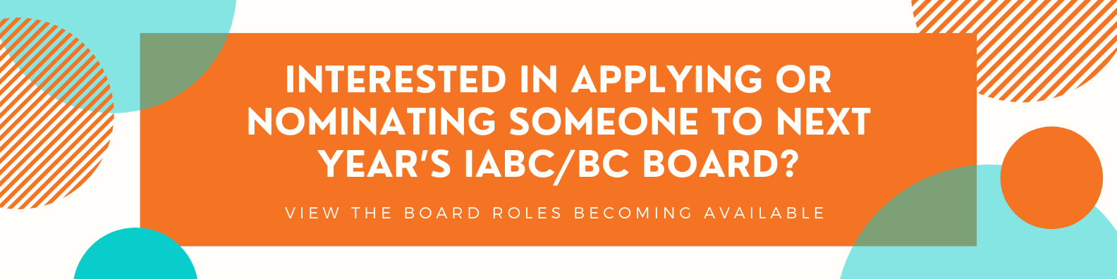Apply for the IABC/BC Board