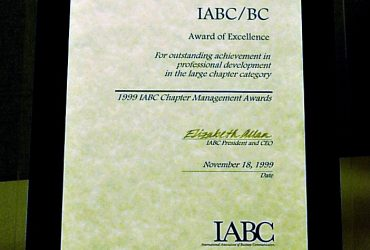 IABC BC Management Award of Excellence